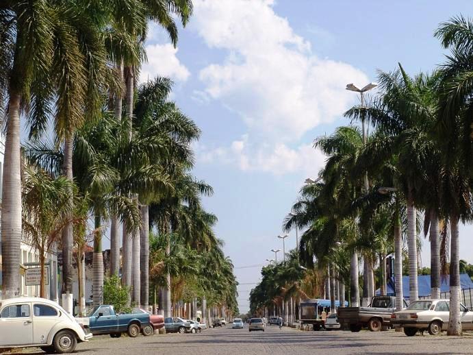 Cidade de Corumbá, portal do Pantanal no estado do Mato Grosso do Sul.